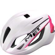 MET helm Strale M 52-58 wit/roze