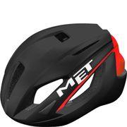 MET helm Strale M 52-58 zwart/rood