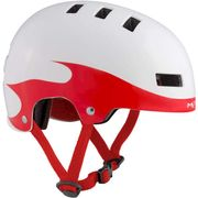 MET helm Yoyo flames 51-55 wt/rood
