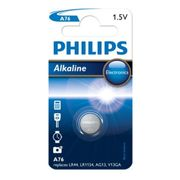 Philips batt A76/LR44 Alk 1,5V BP1