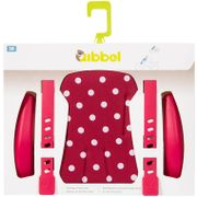 Qibbel stylingset v Polka Dot rood