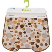 Qibbel windschermflap dots bruin