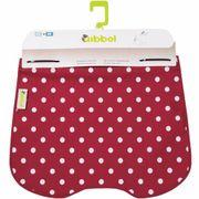 Qibbel windschermflap Polka Dot rd