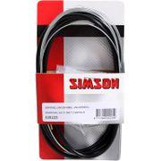 Simson versn kabel uni 3v zwart
