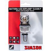 Simson koplamp voor clearly led batterij voorvork