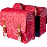 Basil dubbele tas Boheme vintage rood