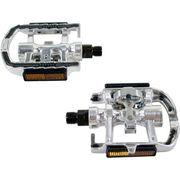 Tecora Combi pedaal SPD aluminium p/pr