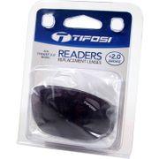 Tifosi reader lens Tyrant smoke +2.0