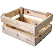 transport krat mini blank vuren hout