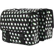 UP Fietstas Polyester 40L Stip zwart