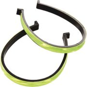 Trouser clips fluo yellow