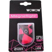 Wowow Magnetlight Urban roze WRM Rode LED