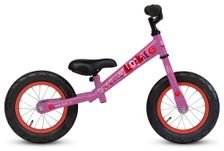 12.5 Loekie Loopfiets Pink