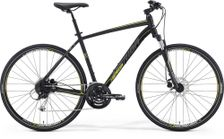 Merida Crossway 100 Matt Black/Yellow/Grey