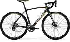 CYCLOCROSS 500 METALLIC BLACK/YELLOW/RED L