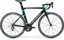 REACTO 300 MATT BLACK/BLUE/GREY L 56CM