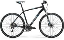 CROSSWAY 500 MATT BLACK/BLUE/GREY 52CM