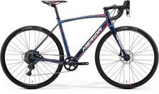 CYCLO CROSS 600 SHINY DARK BLUE/RED/WHITE S-M-52CM
