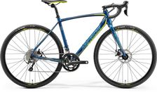 CYCLO CROSS 300 PETROL/YELLOW/TEAL S-50CM