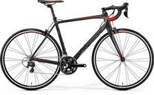 SCULTURA 400 SILK BLACK/SILVER/RED XS 47CM