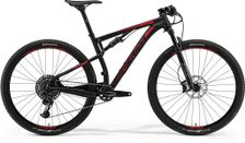 Merida Ninety-six 9.800 Matt Black/shiny Red L