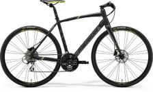 SPEEDER 100 MATT BLACK/GREY/YELLOW L 56CM