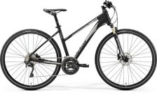 CROSSWAY XT-EDITON MATT BLACK/SHINY SILVER M LADIE