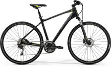 Merida Crossway 300 Matt Black/green/grey L 55cm