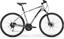 CROSSWAY 100 SHINY DARK SILVER/RED/BLACK S 47CM