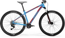 BIG NINE 300 METALLIC BLUE/RED M