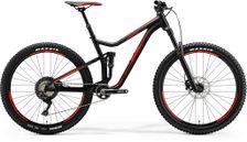 ONE FORTY 700 MATT BLACK/SHINY RED S 15.5