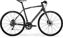 SPEEDER 500 MATT DARK GREY/GREY/WHITE L 56CM