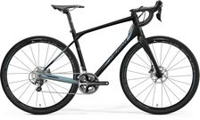 SILEX 700 MATT METALLIC BLACK/LITE BLUE XL 56CM