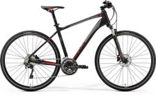 CROSSWAY 500 MATT BLACK/RED XL 59CM