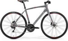SPEEDER 400 MATT GREY/RED M-L 54CM