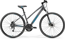 CROSSWAY 40 DARK SILVER/BLUE L 54CM LADIES