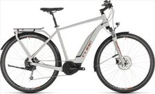 CUBE TOURING HYBRID 400 GREY/ORANGE 2019 58CM