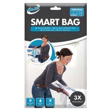 Balbo - Vacu゚mzakken - Smart Bag - 2 Stuks - Transparant