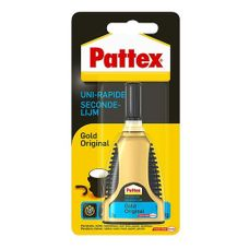 Pattex - Secondelijm - Gold - Tube - 3 Gram