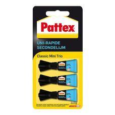 Pattex - Secondelijm - Classic - 3 Stuks - Transparant