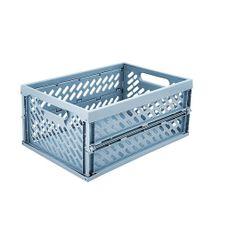 Plast Team - Mini vouwbox - Faded denim - 34x24x16