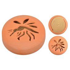 Citronella spiralen in terracotta