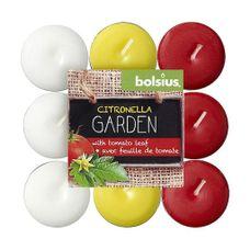 Bolsius - Kaars - Theelichtjes - Citronella - 4 Branduren