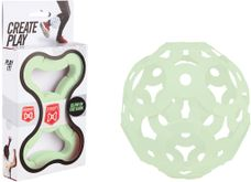 Foooty - Reis bal - 6 in 1- Glow in the dark