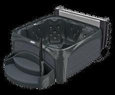 Spa Crossover 730L Black Diamond met grijze panelen