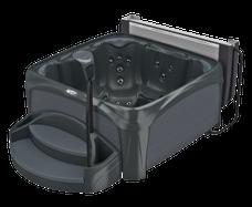 Spa Crossover 730S Black Diamond met grijze panelen