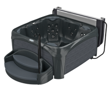 Spa Crossover 740L Black Diamond met grijze panelen