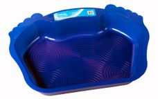 Interline foot shaped footbath