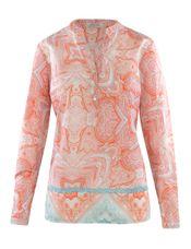 Open End Tuniek-blouse katoen V-hals