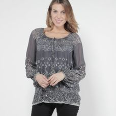 Open End Blouse met bijpassende top